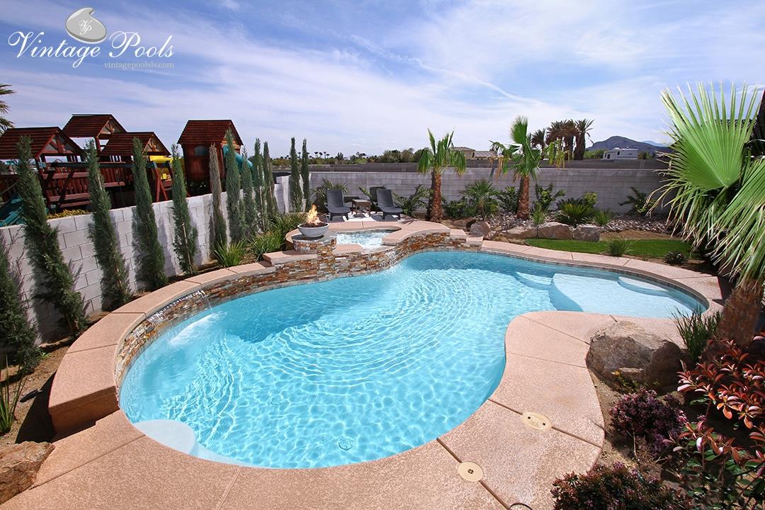Custom Swimming Pools Spas Water Features Vintage Pools
