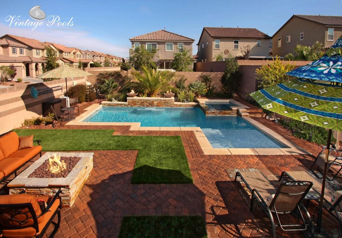 Vintage Pools Las Vegas Custom Swimming Pool Builder Vintage Pools